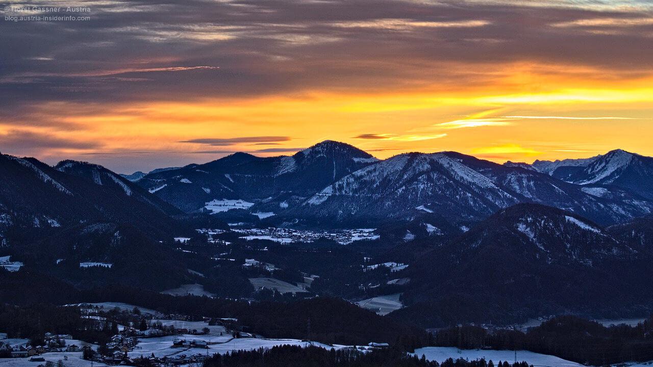 Sonnenaufgang am Nockstein