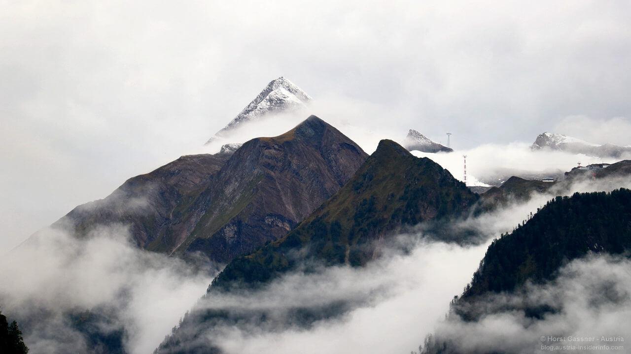 Kitzsteinhorn - am Freitag noch wenig Schnee