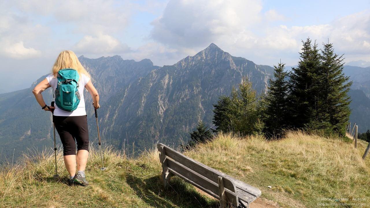 Am Gipfel der Thorhöhe, Blick zu Rettenkogel und Rinnkogel