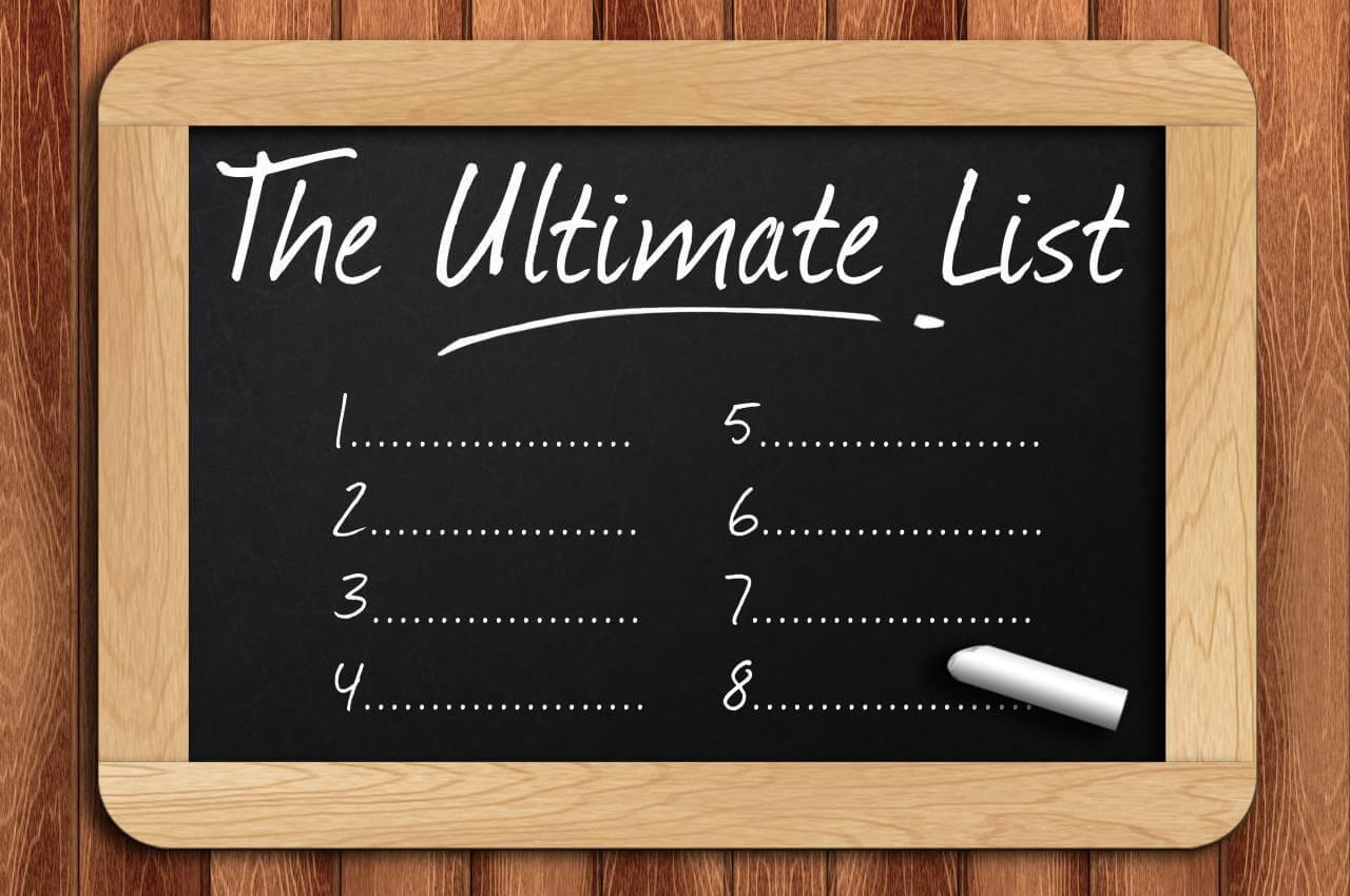 Die Ultimative Lebens-Checklist