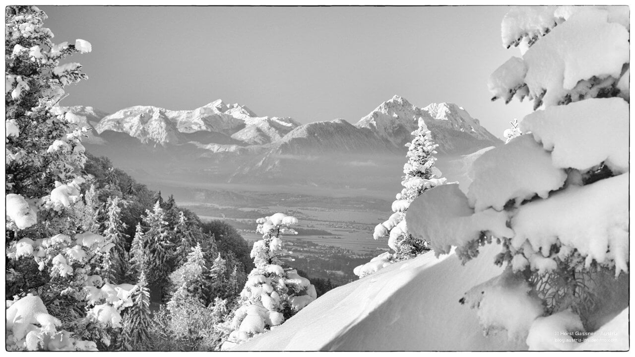 Kurz vor dem Gipfel, Blick zum Hohen Staufen
