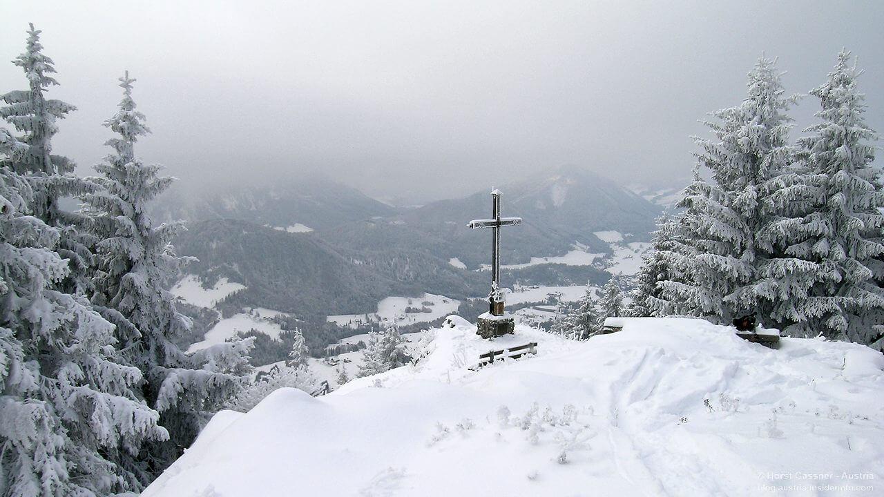 Lidaun am Gipfel