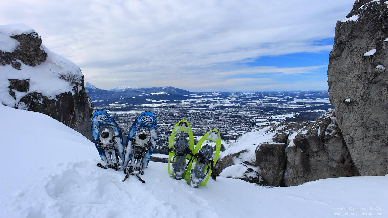15 Schneeschuhtouren im Salzburger Land