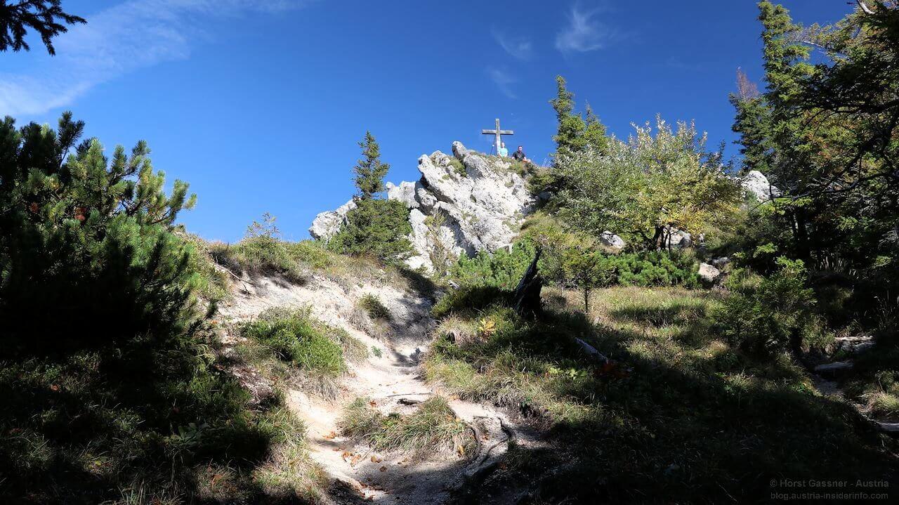 Almkogel - Gipfel im Sommer