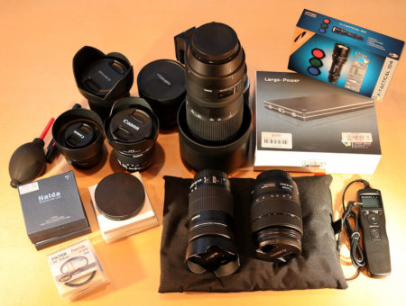 Fotoausrüstung – was man unbedingt braucht