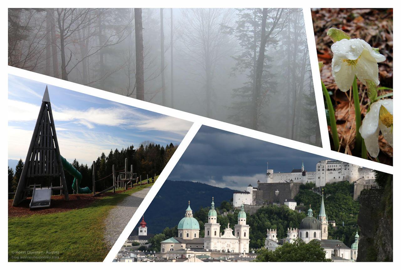 Wanderungen bei Schlechtwetter in Salzburg