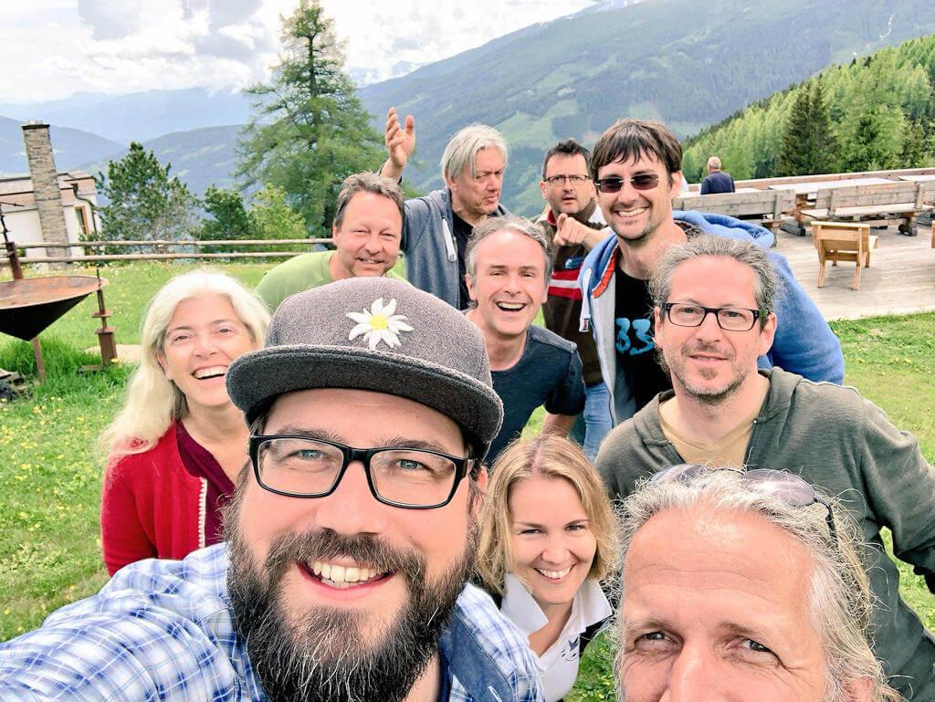 Almcamp 2018 - Abschluss-Selfie - Jochen Hencke