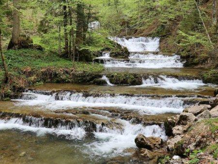 Wasserwunder Tiefenbach in Hintersee