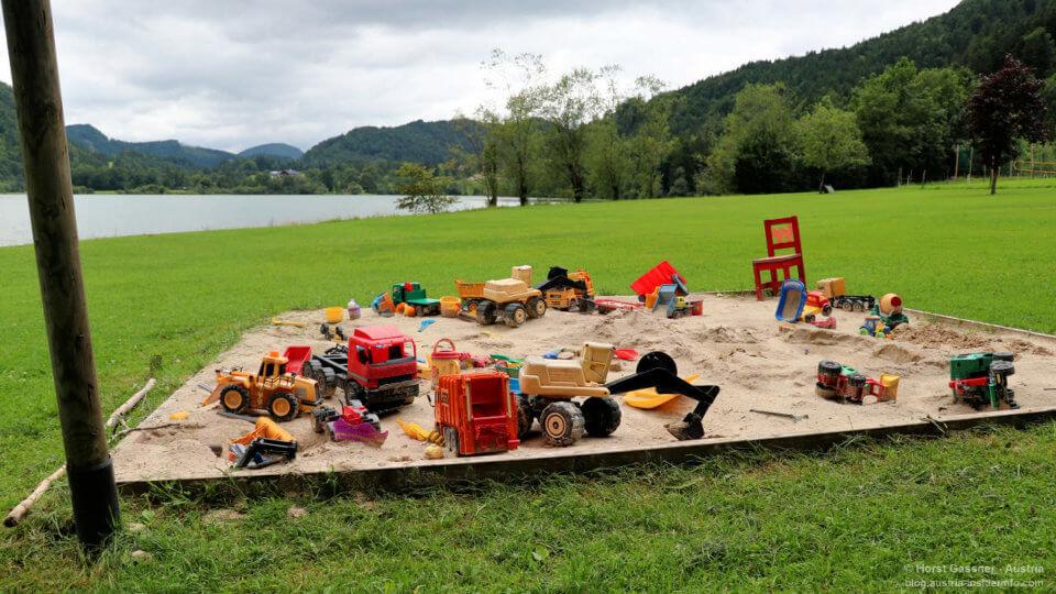 Strandbad Hintersee - auch etwas für Kids