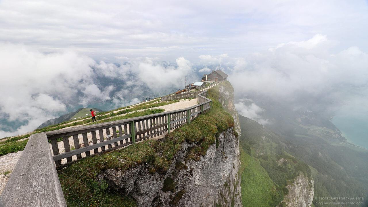 Kalender Faszination Salzburger Land - Schafberg Gipfel in Wolken