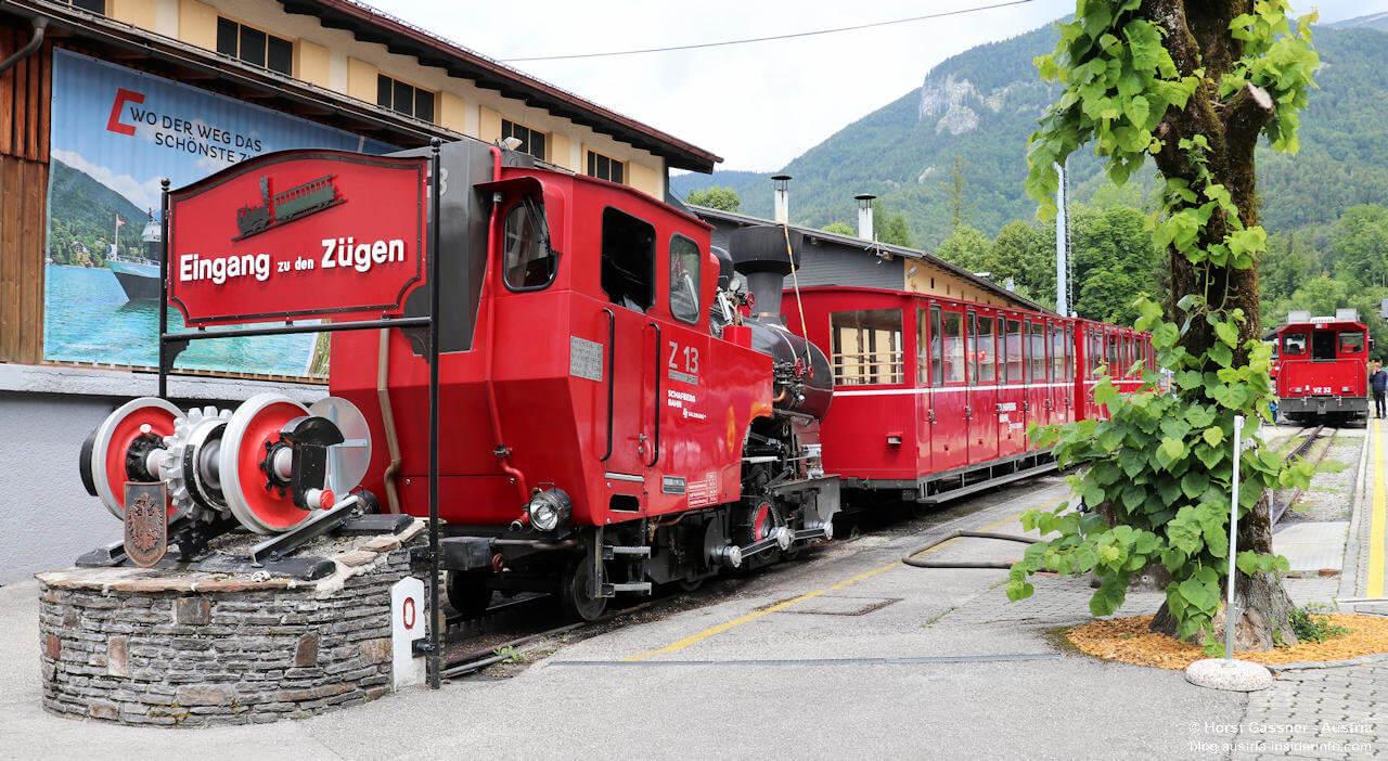 Talstation der Schafbergbahn