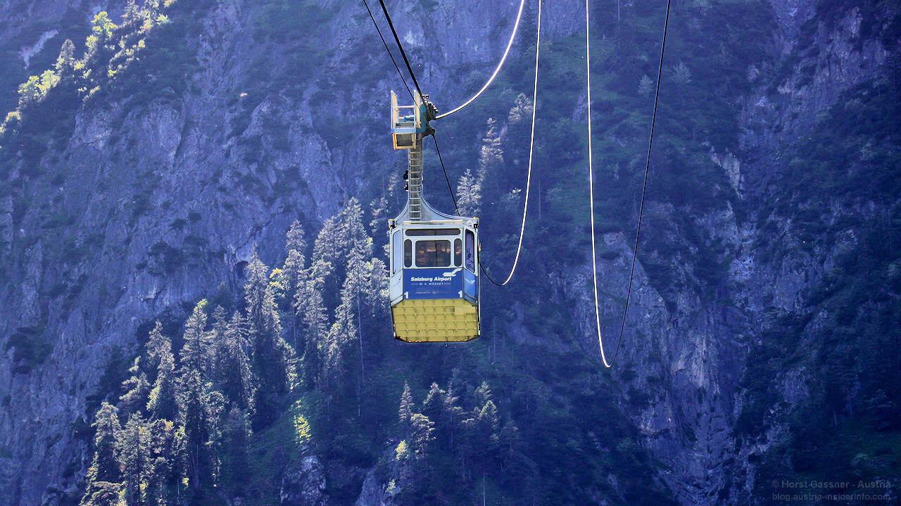 Top Sehenswürdigkeiten Salzburg - Untersberg mit der Seilbahn