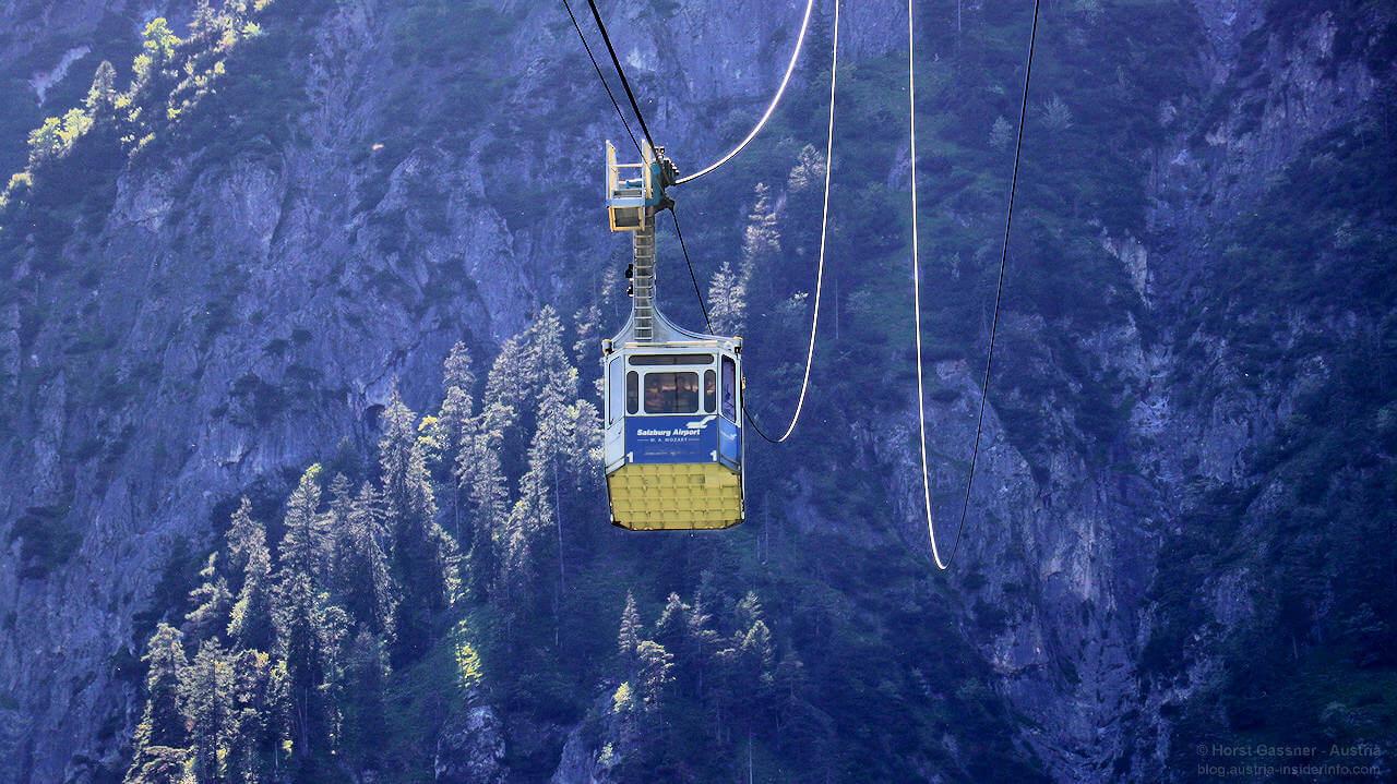 Untersberg mit der Seilbahn