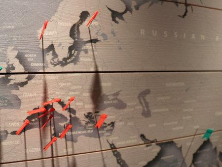 Coole Weltkarten für Reisende<br><span style='font-size: 50%; font-style: italic'>Werbung</span>