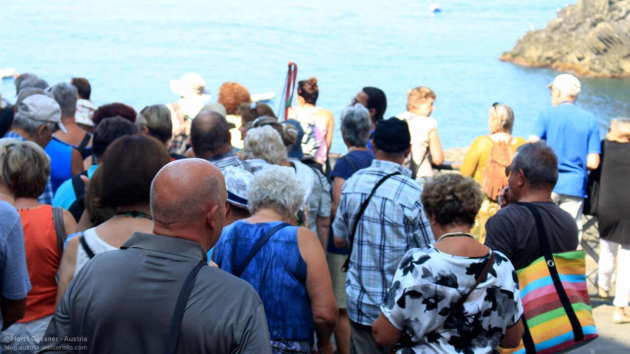 Overtrousim - zu viel des Guten in Cinque Terre