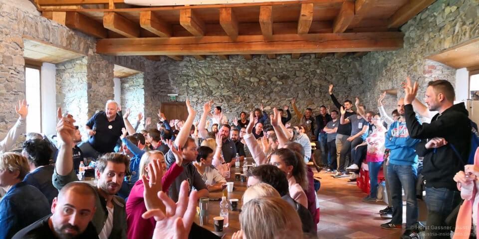 Castlecamp 2018 - Session Planung