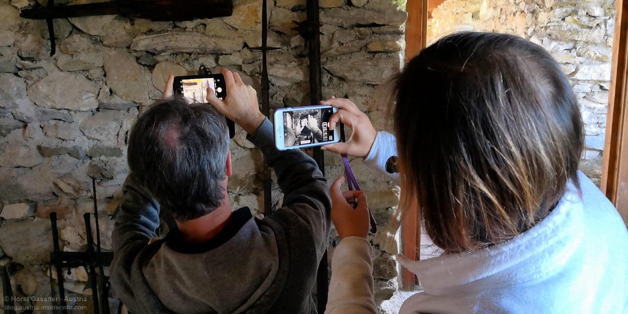 Fotograf beim Fotografieren von Fotograf fotografiert