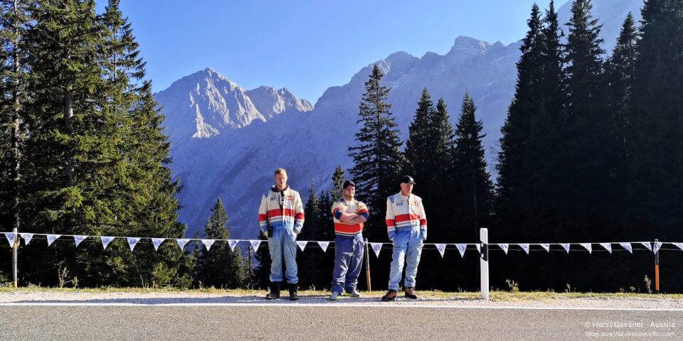Roßfeldrennen vor genialer Bergkulisse