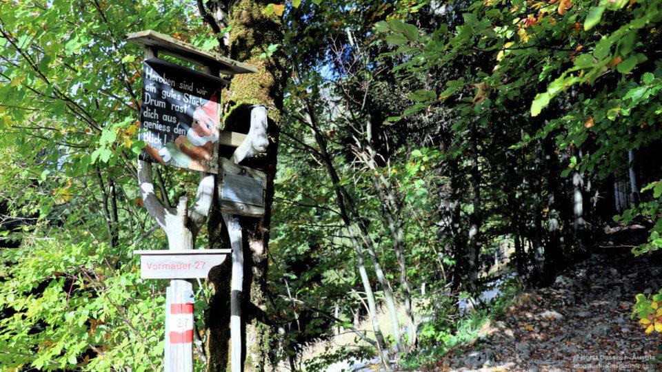 Vormauerstein - Zwergelweg