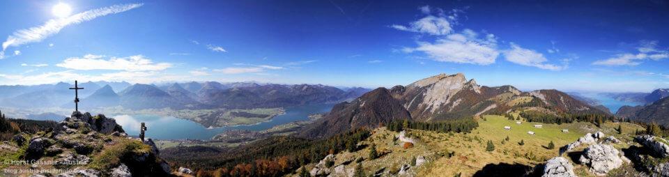 Geniales Gipfelpanorama am Vormauerstein