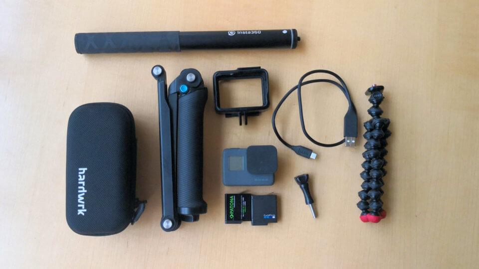 Insta360 One und GoPro Hero 5 Black