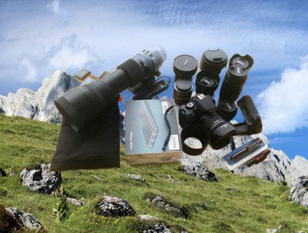 Weitwandern Packliste mit Mehrwert – Fotoausrüstung