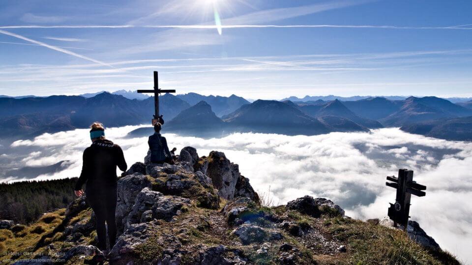Auf dem Gipfel des Vormauersteines