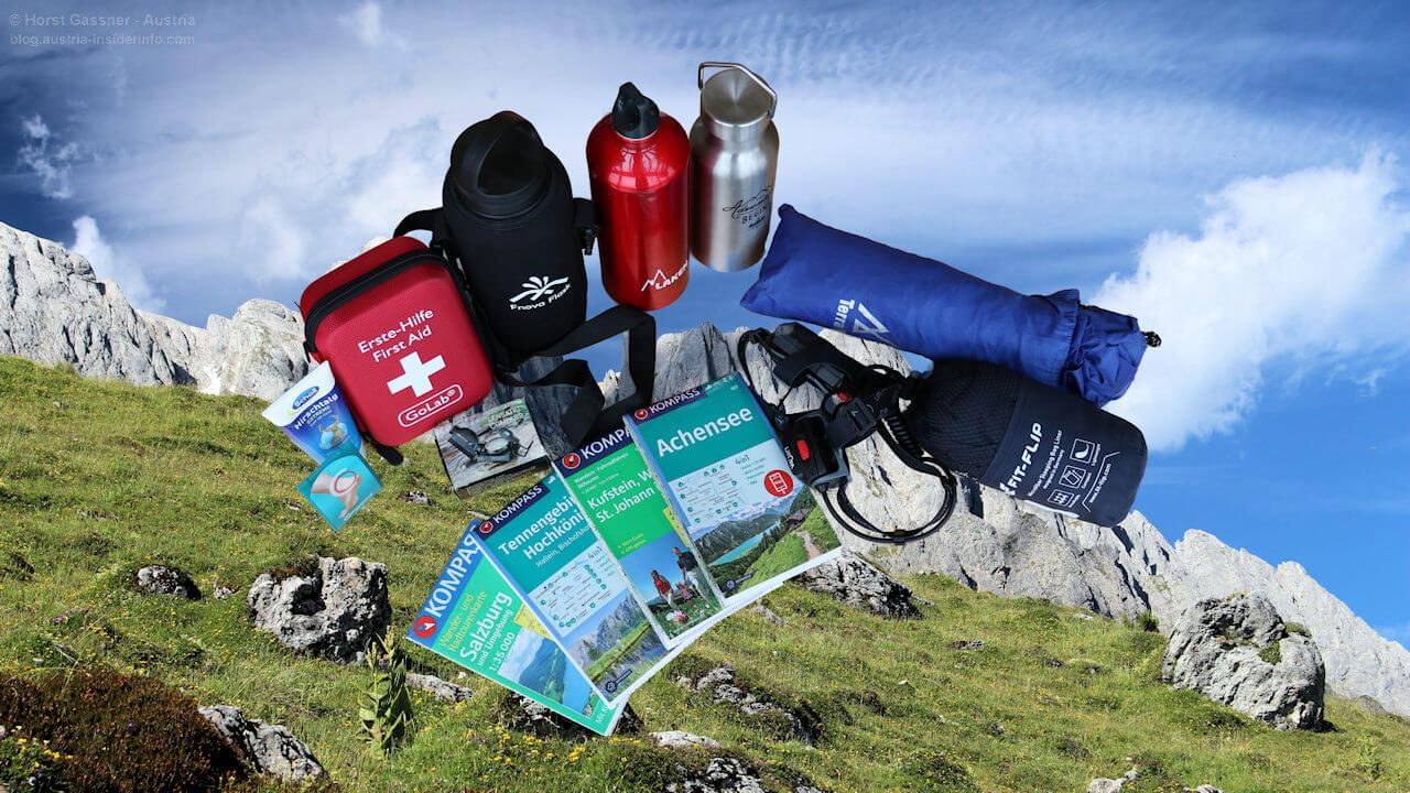 Packliste mit Mehrwert - Wanderausrüstung