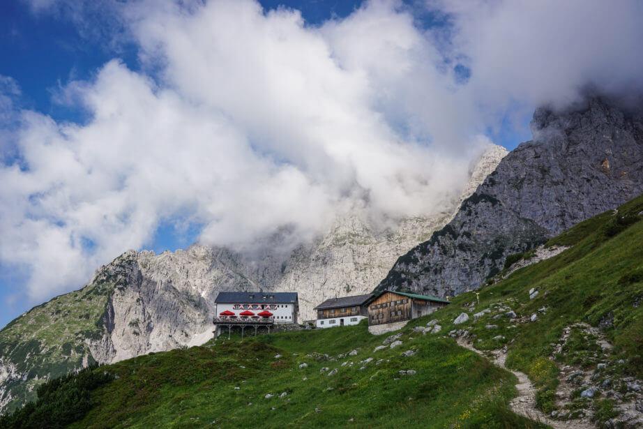 Adlerweg Etappe 2 - Gruttenhütte