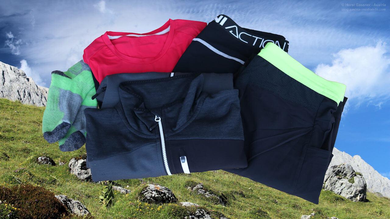 Packliste mit Mehrwert - Kleidung