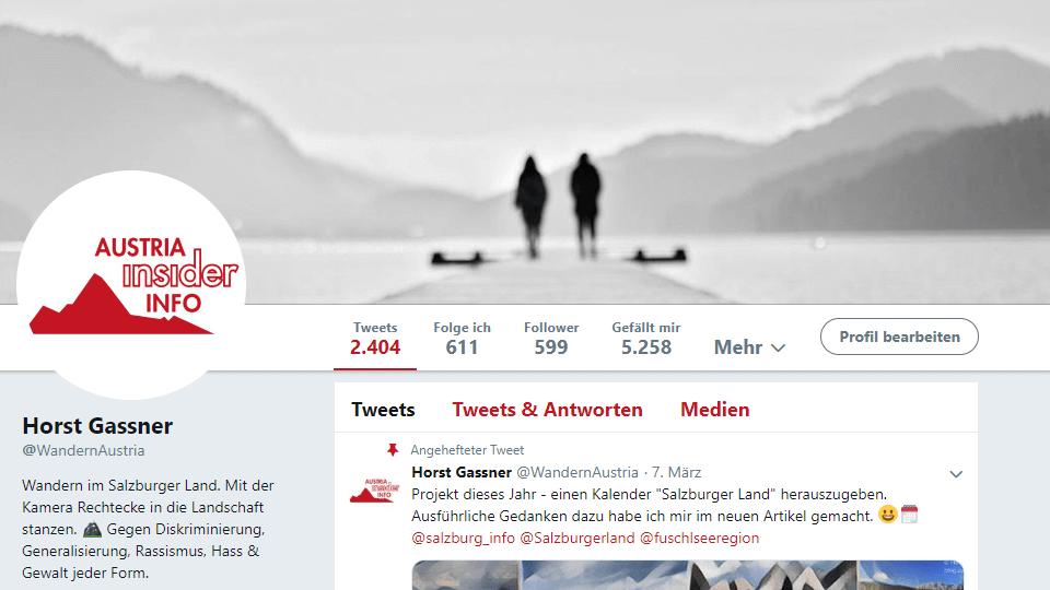 Austria Insiderinfo bei Twitter
