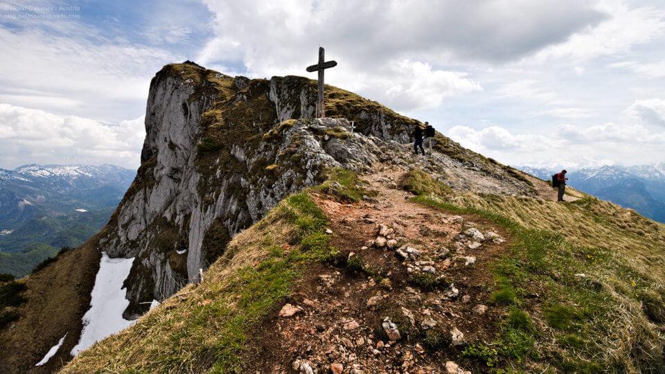 Schafberg Gipfelkreuz