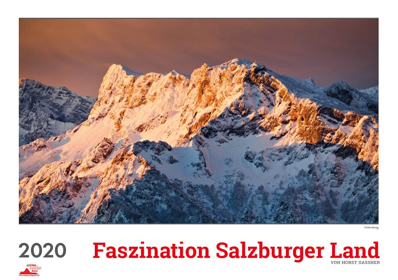 Wandkalender Faszination Salzburger Land