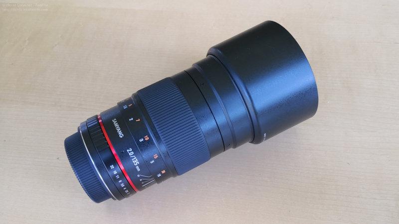 Samyang 135mm Objektiv