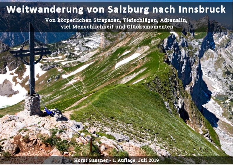 eBook Weitwanderung von Salzburg nach Innsbruck - das Cover