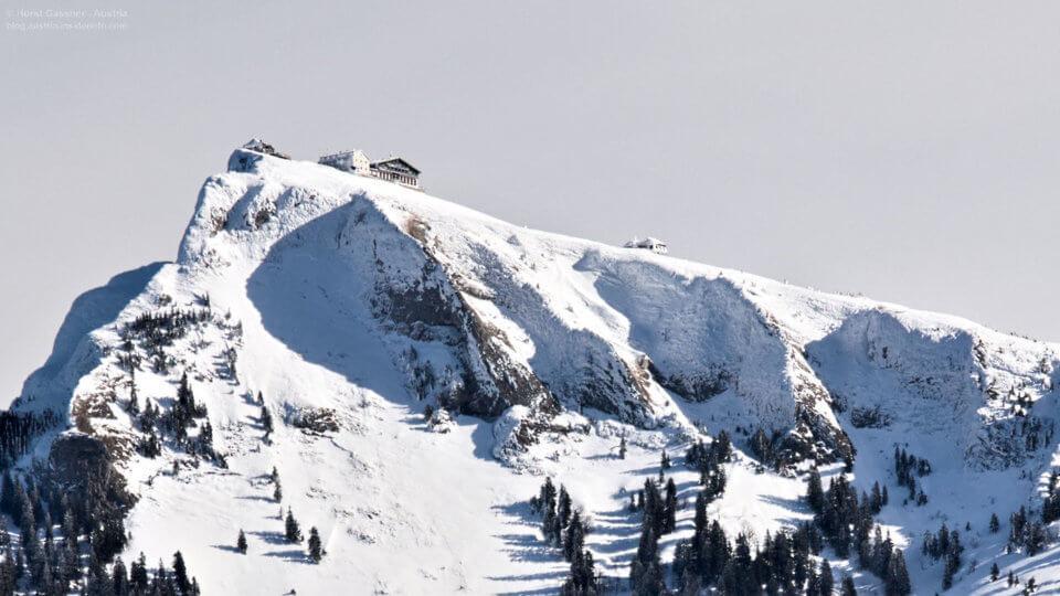 Die anspruchsvollste der Schneeschuhwanderungen im Salzburger Land