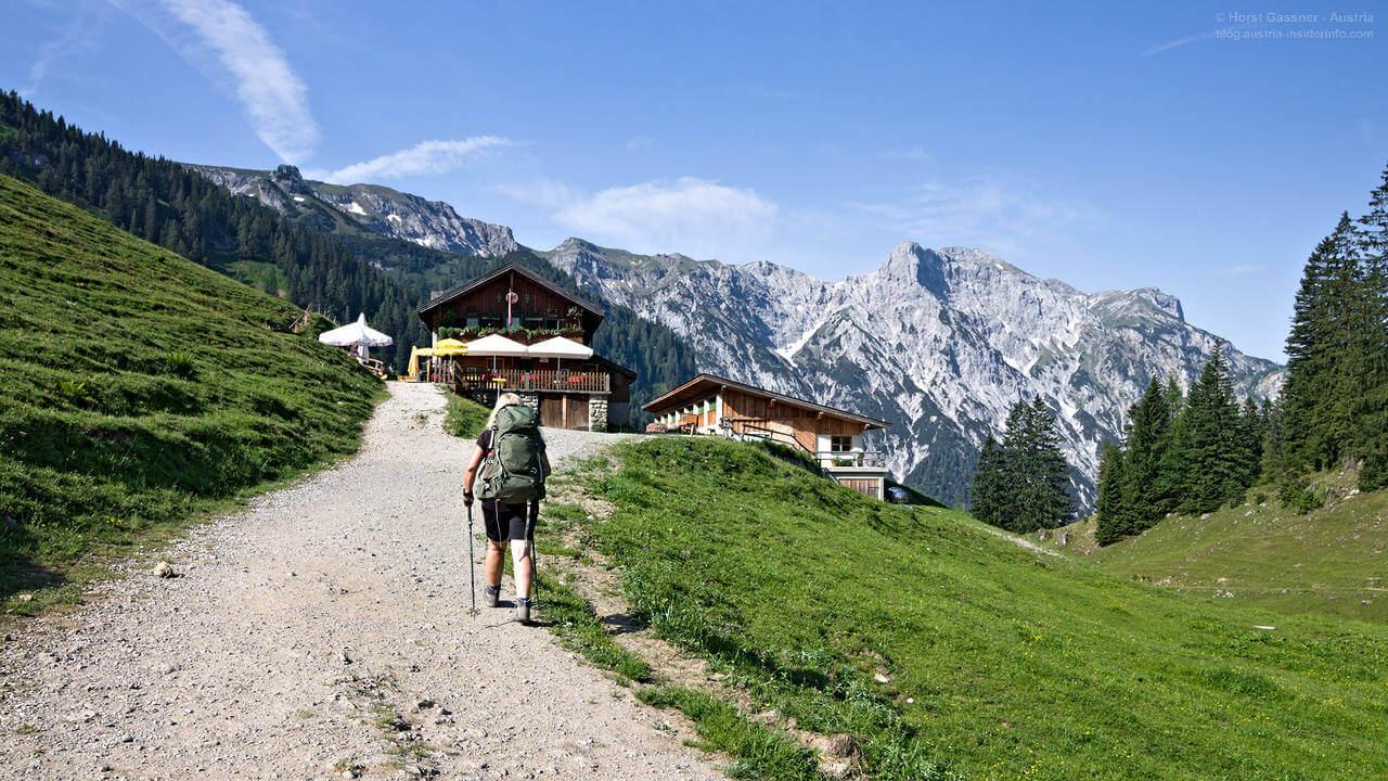 Wanderungen in Österreich - Schwerpunkt Salzburger Land