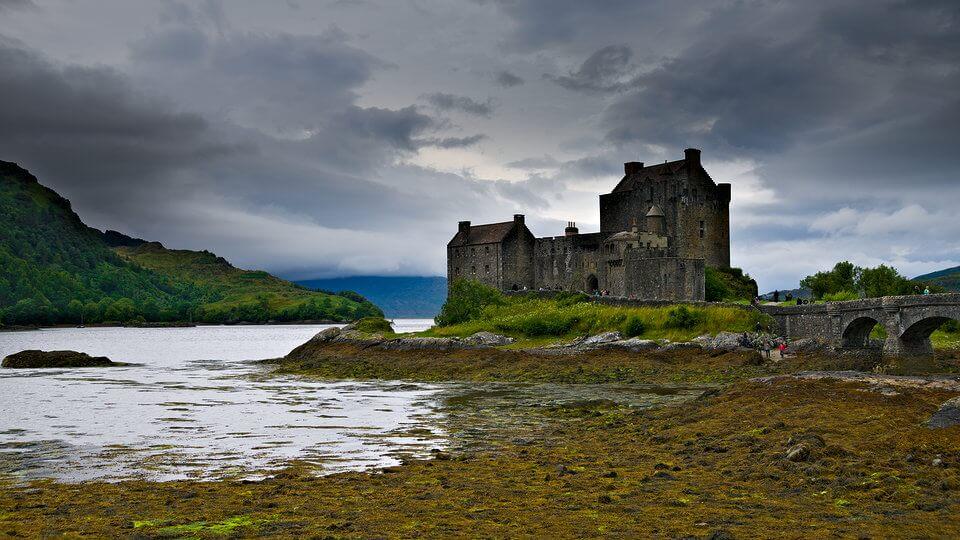 Das gepimpte, schottische Castle