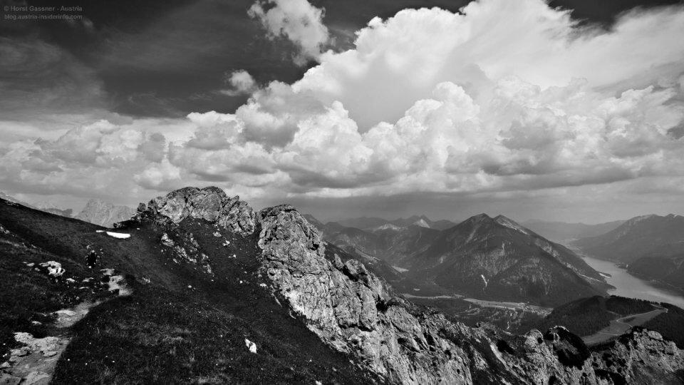 Von Pertisau am Achensee nach Stans über das Stanser-Joch