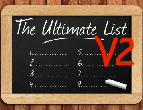 Die ultimative Lebens-Checklist Version 2