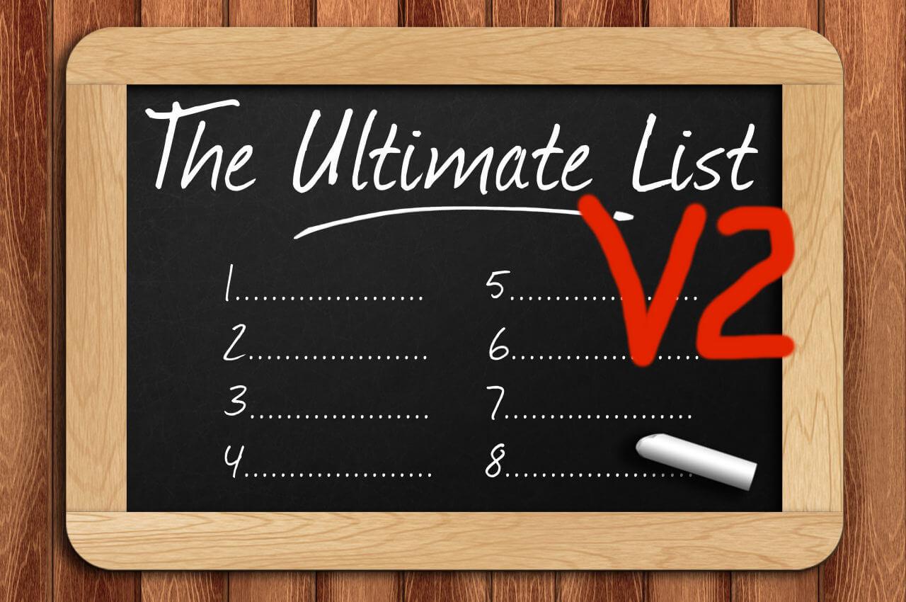 Die Ultimative Lebens-Checklist V2
