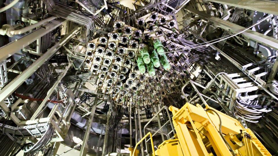 Atomkraftwerk Zwentendorf - Reaktorkern