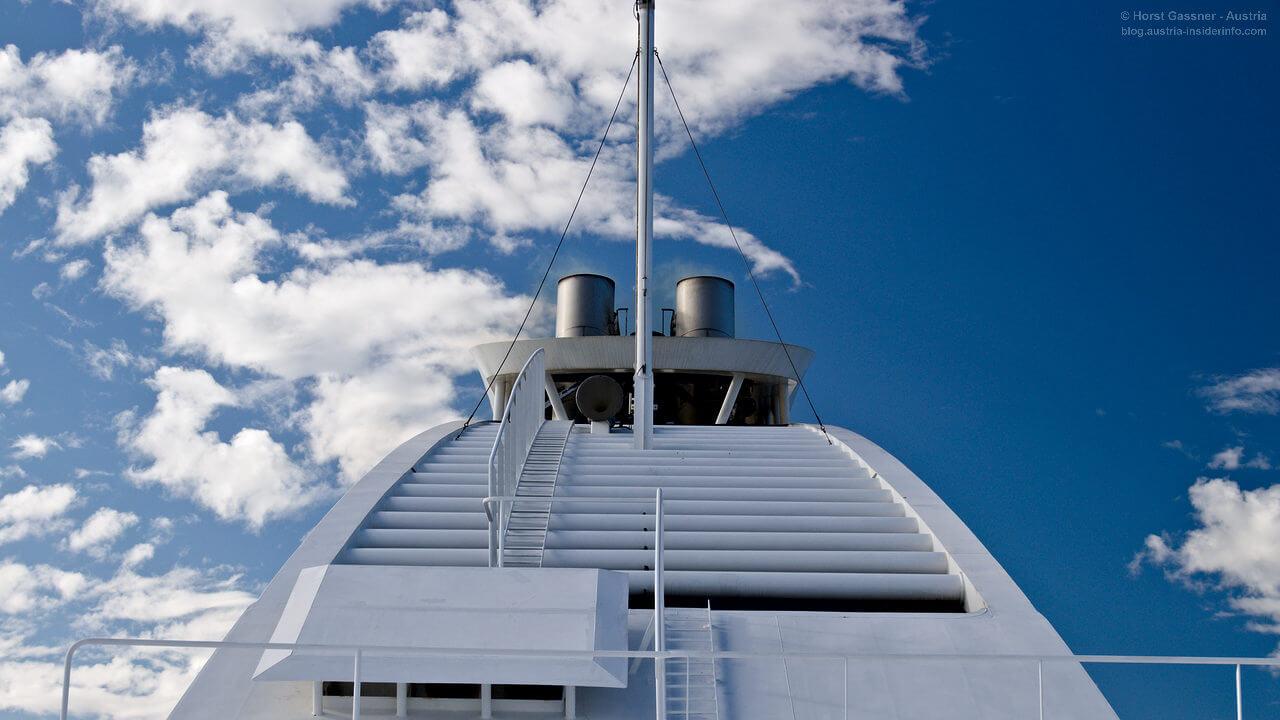 Ein Kreuzfahrtschiff als Blauer Engel
