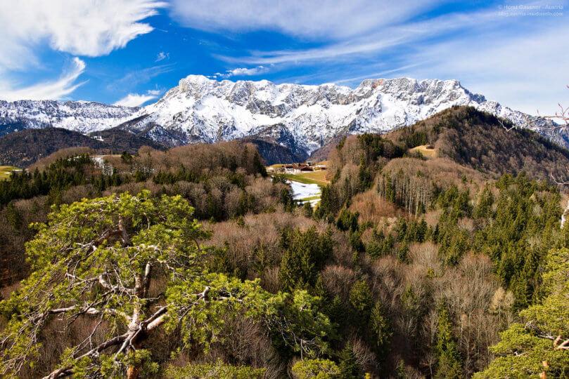 Aufstieg Kleiner Barmstein - genialer Blick zum Untersberg