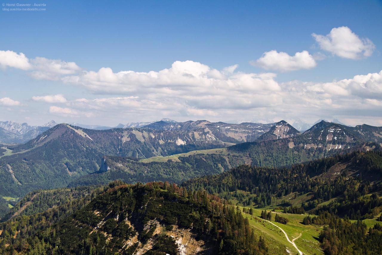 Wieserhörndl - Blick vom Gipfel