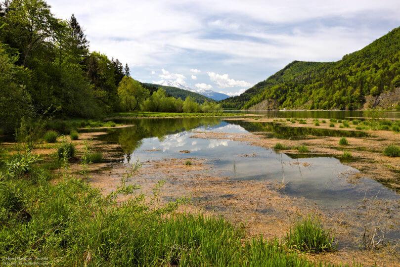 Wiestalstausee im Salzburger Land
