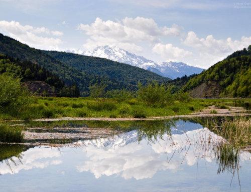 Der Wiestalstausee im Salzburger Land