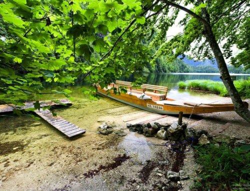 Der Toplitzsee im steirischen Salzkammergut