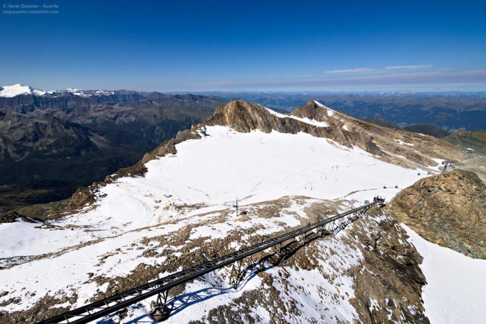 Gletscher Shuttle am Top of Salzburg