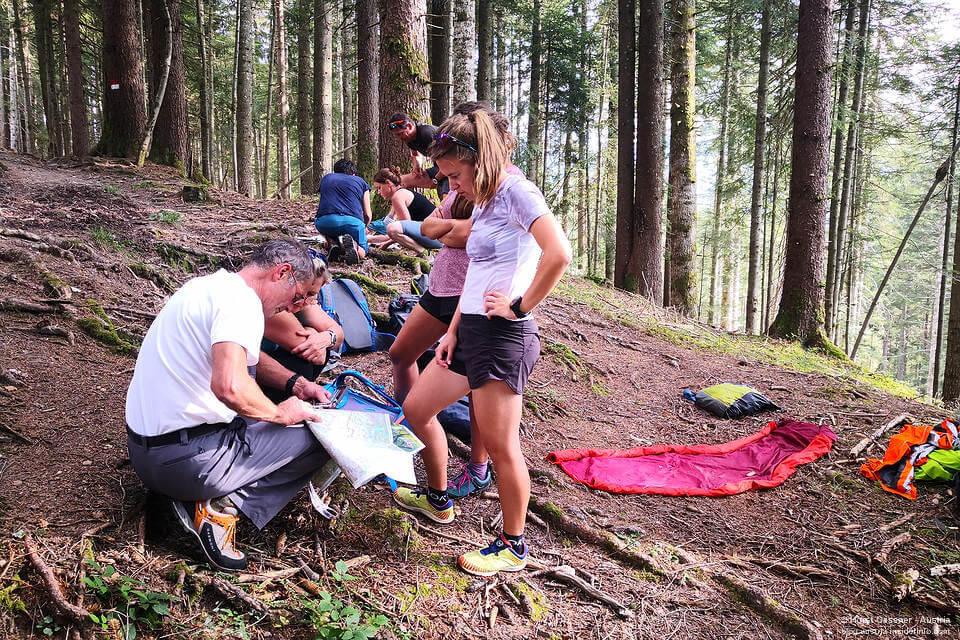 Salzburger Bergwanderführer - Basiskurs - UTM Koordinaten bestimmen